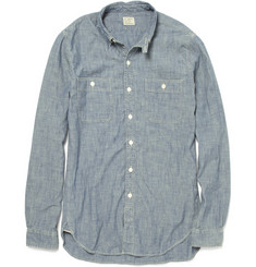 J.Crew Faded Cotton Chambray Shirt