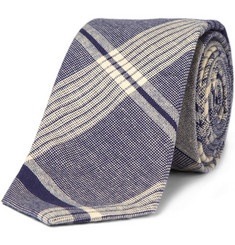 J.Crew Workwear Cotton Madras Tie
