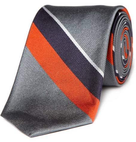 J.Crew Frances Striped Tie