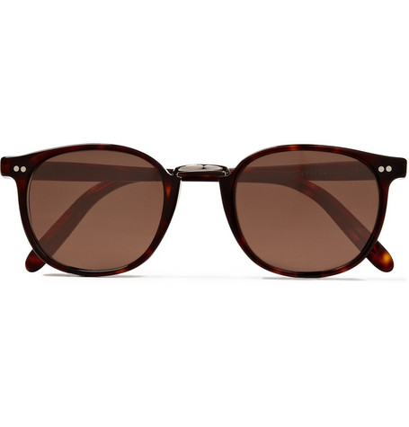 Cutler and Gross Acetate and Metal Frame Sunglasses