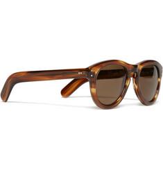 Cutler and Gross Tortoiseshell Acetate Sunglasses