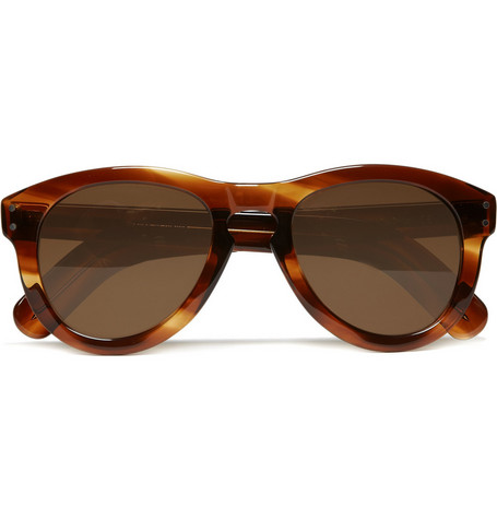 Cutler and Gross Tortoiseshell Acetate Sunglasses