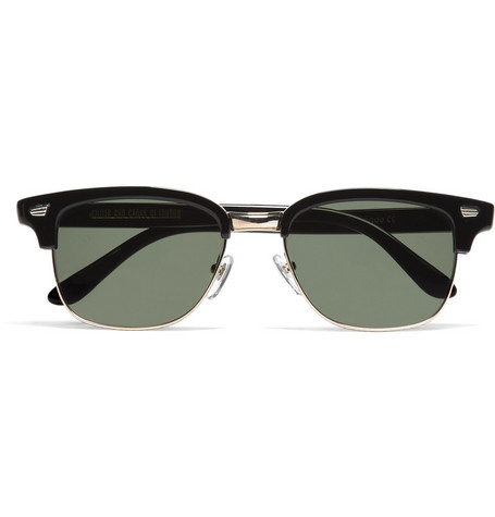 Cutler and Gross Half Frame Sunglasses