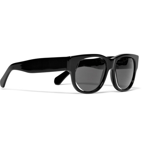 Maison Martin Margiela Black Acetate Sunglasses