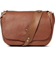 Bill Amberg Full Grain Leather Messenger Bag
