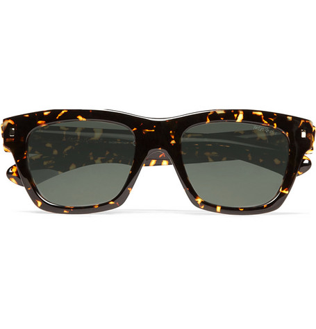 Yves Saint Laurent Dark Havana Spot Sunglasses