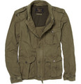 J.Crew Cotton Military Jacket