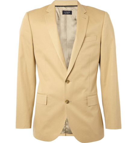 J.Crew Ludlow Chino Suit Jacket