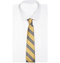 Brooks Brothers Regimental Tri-Colour Tie
