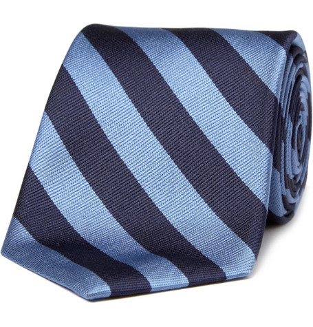 Brooks Brothers Regimental-Striped Silk Tie