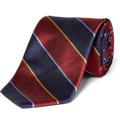 Brooks Brothers Regimental-Striped Silk Tie