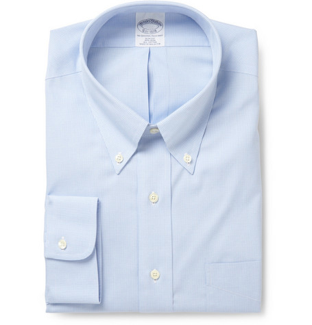 Brooks Brothers Non-Iron Shirt with Button Down Collar