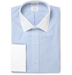 Brooks Brothers Non-Iron Contrasting Collar Cotton Shirt