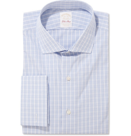 Brooks Brothers Sea Island Cotton Plaid Shirt