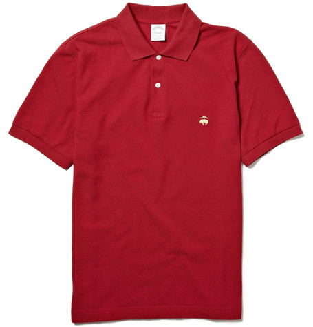 Brooks Brothers Slim-Fit Cotton Piqué Polo Shirt