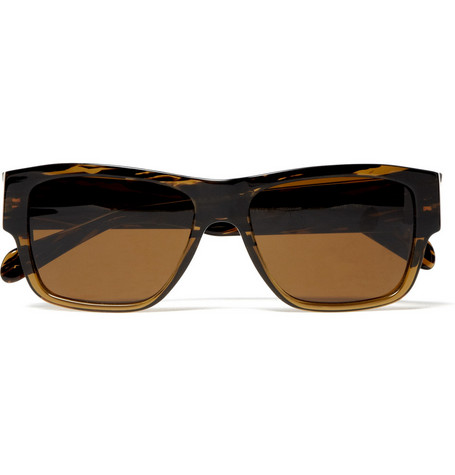 Oliver Peoples Square Tortoiseshell Sunglasses