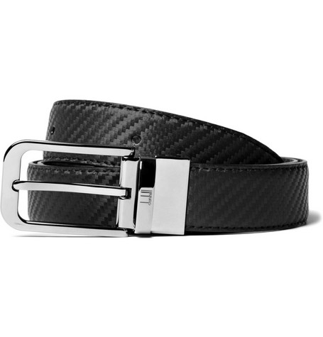 Alfred Dunhill Cut-To-Fit Reversible Black and Brown Belt