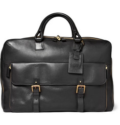 Alfred Dunhill Bladon Leather Holdall Travel Bag