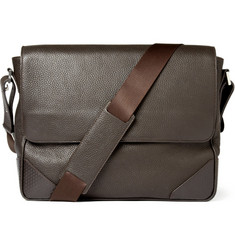 Dunhill Leather Messenger Bag