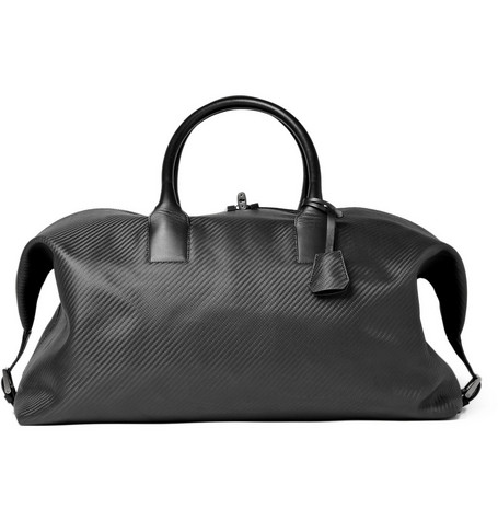 Alfred Dunhill CHASSIS Leather Holdall Bag
