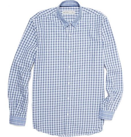 Etro Plaid Cotton Shirt