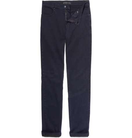 Etro Straight Leg Cotton Trousers