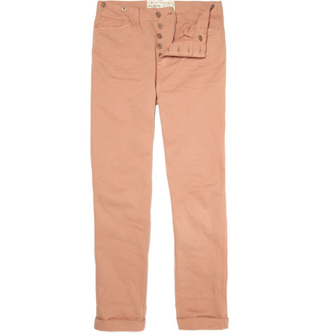 Aubin & Wills Navenby Cotton Twill Trousers