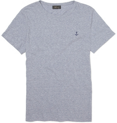 A.P.C. Anchor Print T-Shirt