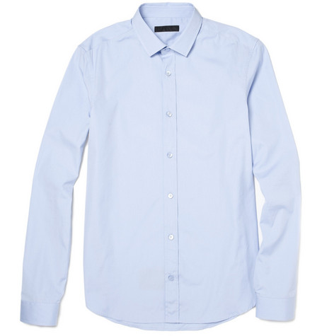 Burberry Prorsum Slim Collar Shirt