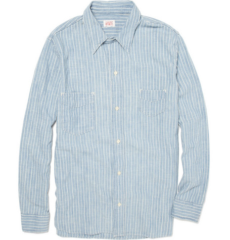 Levi's Vintage Clothing Striped Cotton Shirt