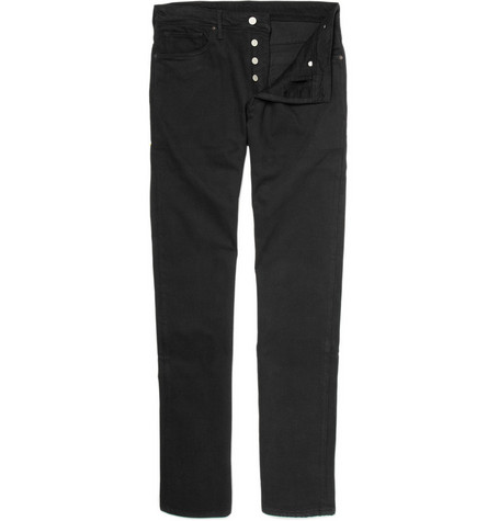 Levi's Made & Crafted Ruler Straight Black Jeans