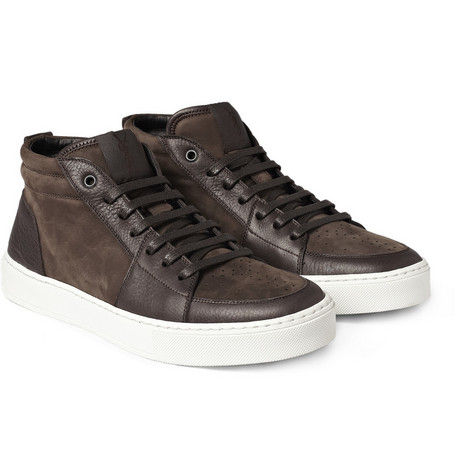 Yves Saint Laurent Malibu Leather Sneakers