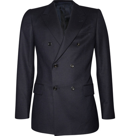 Yves Saint Laurent Double-Breasted Wool Jacket