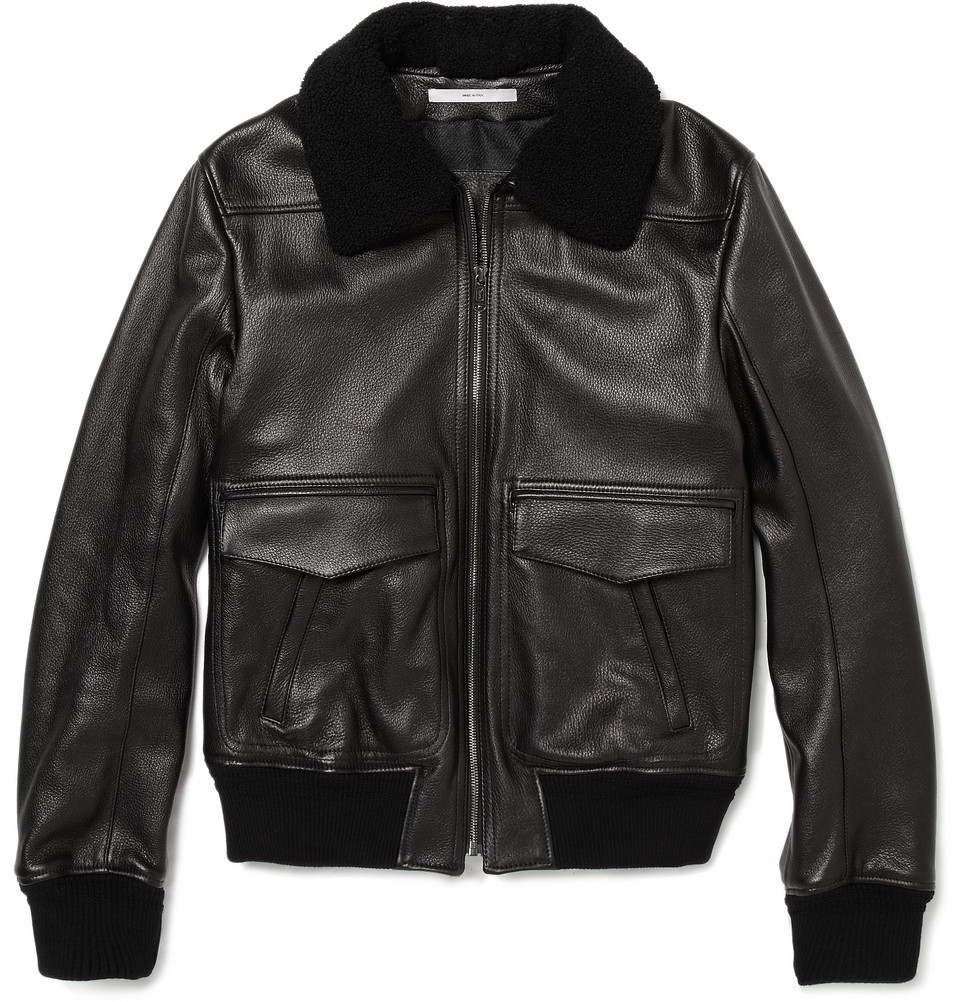 Leather jacket upkeep -  3