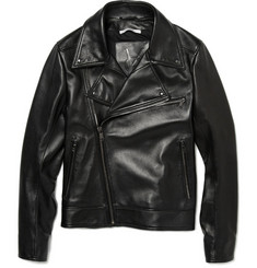 Yves Saint Laurent Nappa Leather Biker Jacket