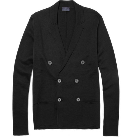 Lanvin Double-breasted Wool Cardigan