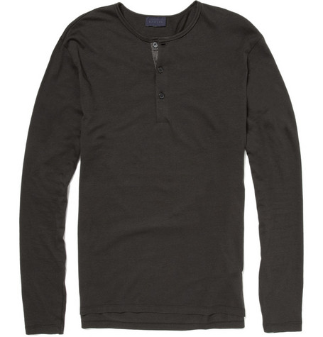 Lanvin Long Sleeved Henley Top