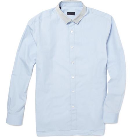 LanvinGrosgrain Collar Shirt