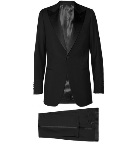 Lanvin Single-Breasted Navy Tuxedo