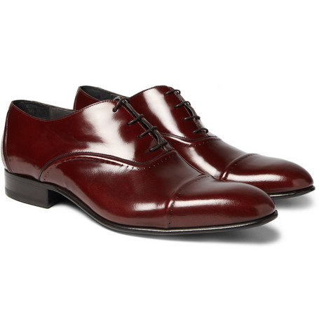 Lanvin Oxford Leather Brogues