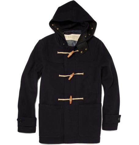 Burberry BritMariner Wool-Blend Duffle Coat