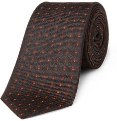 Burberry Shoes & Accessories Woven Silk Tie