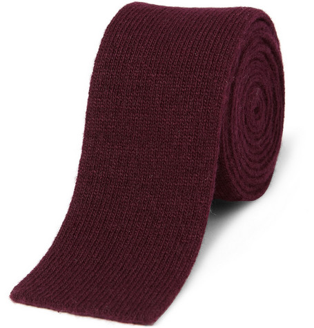 Burberry Shoes & Accessories Kennet Knitted Cashmere Tie