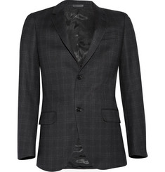 Alexander McQueen Checked Suit Jacket