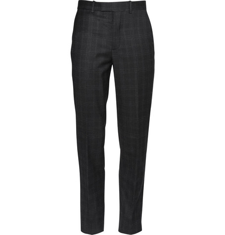 Alexander McQueen Checked Suit Trousers
