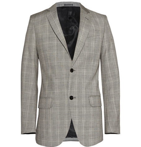 Alexander McQueen Prince of Wales Check Suit Jacket