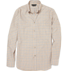 Alexander McQueen Plaid Cotton Shirt