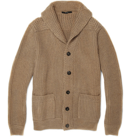 Gucci Chunky Shawl Collar Cardigan