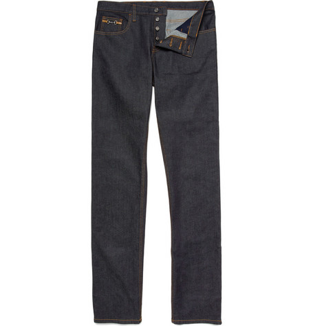 Gucci Slim Fit Horsebit Jeans