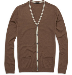 Gucci Cashmere, Wool and Silk Blend Cardigan